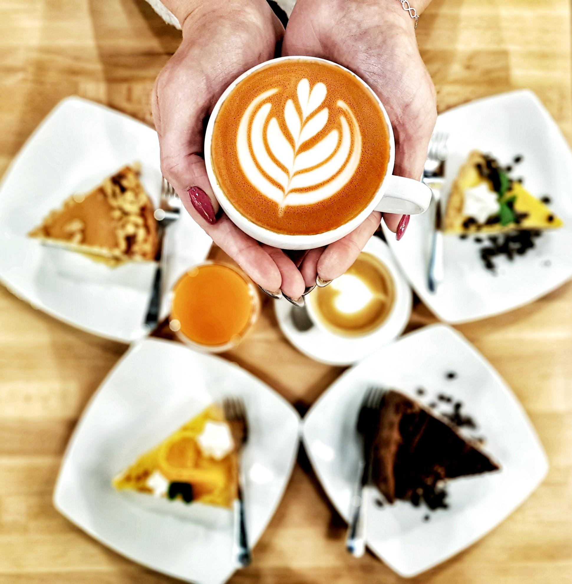 kawa i ciasta
