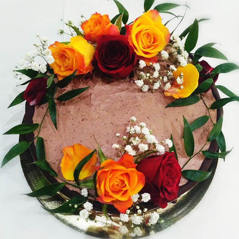 Tort Czekoladowo Pomaranczowy